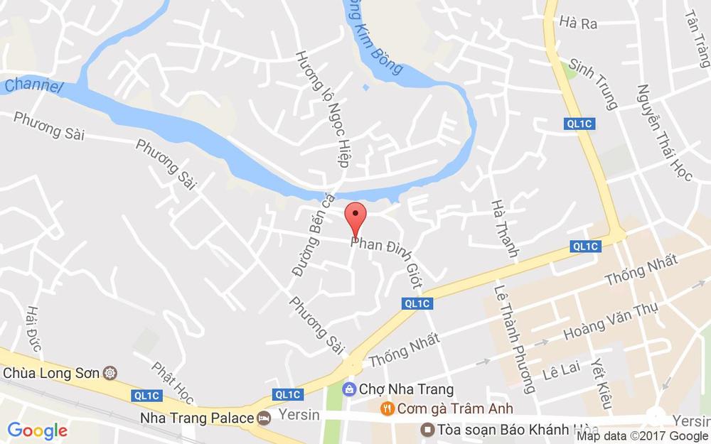 Vị trí bản đồ 41/19 Phan Đình Giót Tp. Nha Trang Khánh Hoà
