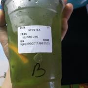Blue sunmer tea