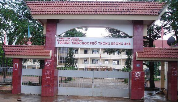 Trường THPT Krông Ana