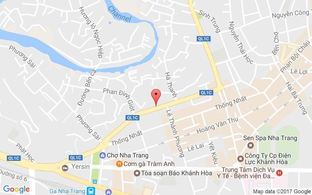 Vị trí bản đồ 120 Trần Quý Cáp Tp. Nha Trang Khánh Hoà