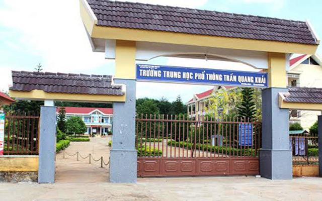 Trường THPT Trần Quang Khải