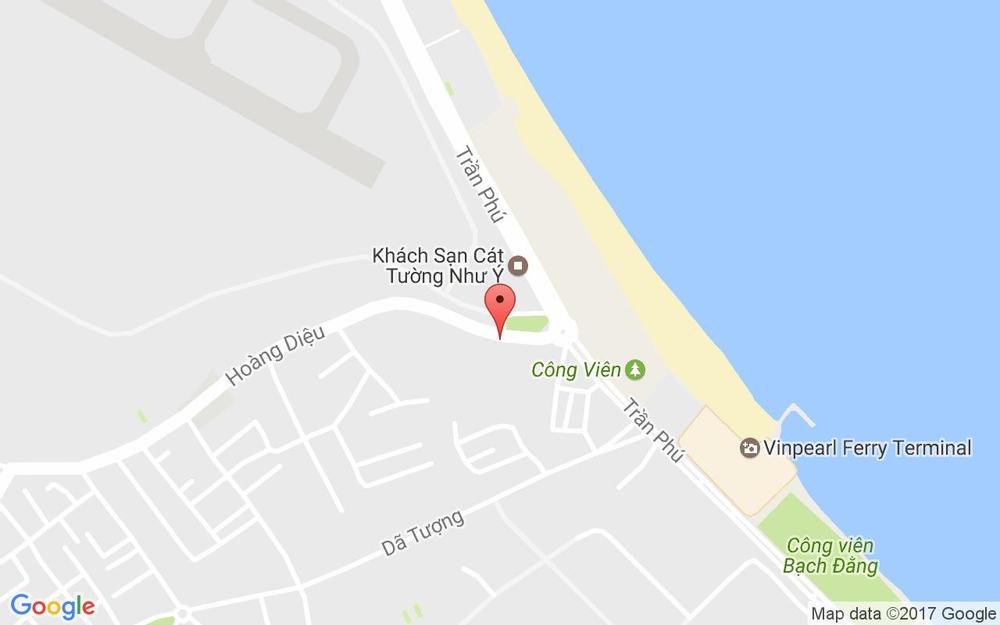 Vị trí bản đồ 17 Hoàng Diệu Tp. Nha Trang Khánh Hoà