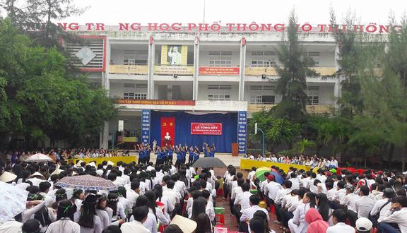 Trường THPT Võ Thị Hồng