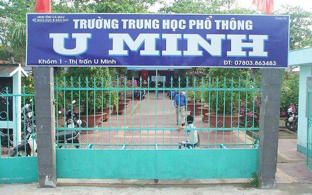 Trường THPT U Minh
