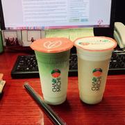 Matcha latte và Rice tea chamicheese