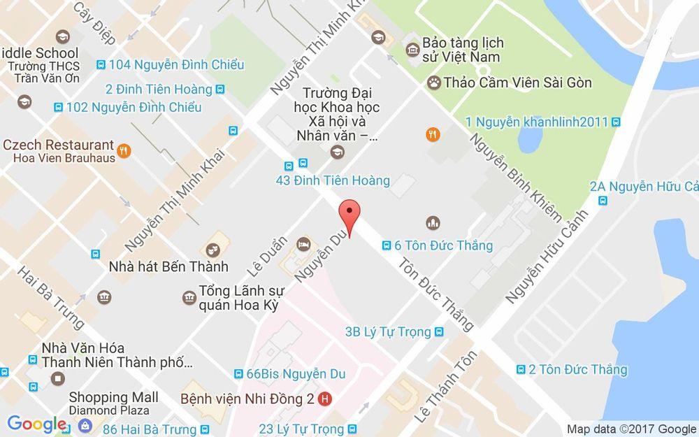Vị trí bản đồ Saigon Trade Center, 37 Tôn Đức Thắng Quận 1 TP. HCM