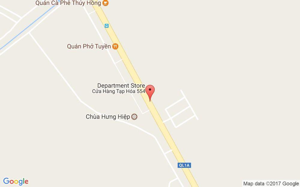 Vị trí bản đồ Quốc Lộ 1A, Xã Tân Long Phụng Hiệp Hậu Giang