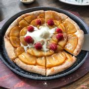 pizza hoa quả
