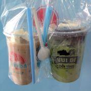 Matcha đậu đỏ, phô mai tươi size L được khuyến mãi trà sữa phô mai tươi size M, hết hạn 30/4/2018
