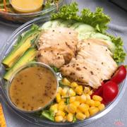 Salad gà mustard