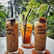 Trà đào cam sả + cafe sữa