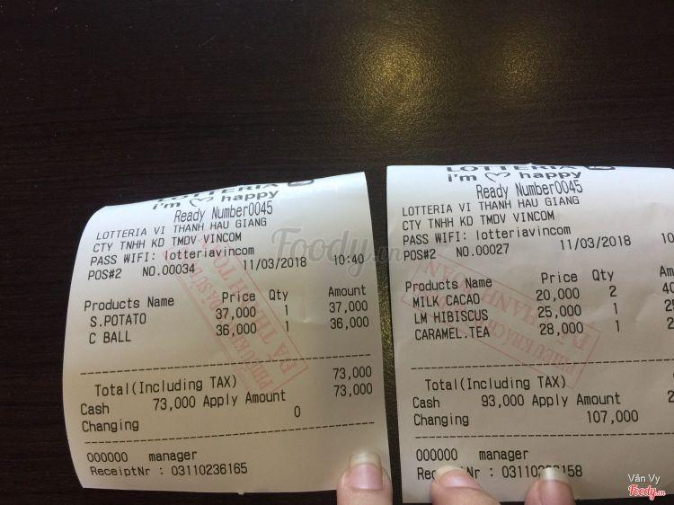 Lotteria - Vincom Hậu Giang ở Hậu Giang