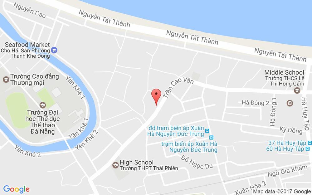 Vị trí bản đồ Bướm Studio - Trần Cao Vân ở Đà Nẵng