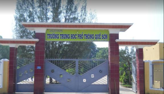 Trường THPT Quế Sơn