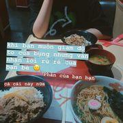 Cơm bò + súp miso & mì ramen