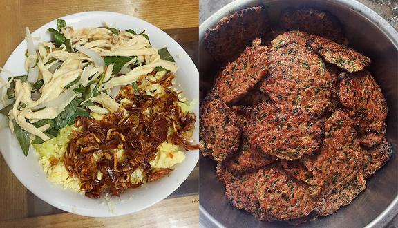 Xôi Thịt Nướng & Bánh Mì Kẹp Thịt Online