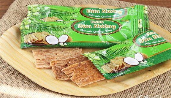 Đặc Sản Quảng Nam - Bánh Dừa Nướng