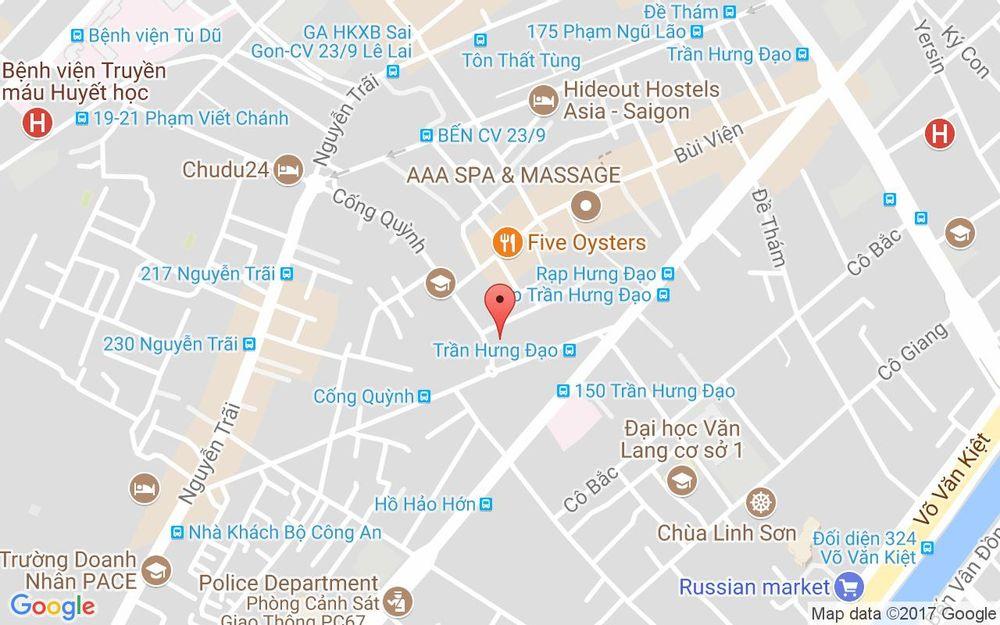 Vị trí bản đồ 84 Cống Quỳnh, P.  Phạm Ngũ Lão Quận 1 TP. HCM