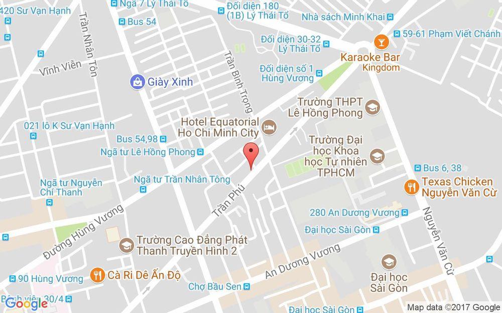 Vị trí bản đồ 64 Trần Phú, P. 4 Quận 5 TP. HCM
