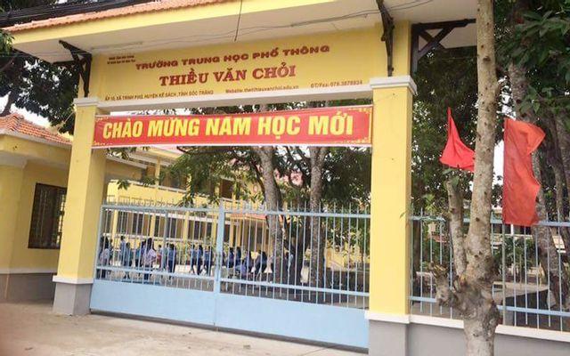 Trường THPT Thiều Văn Chỏi