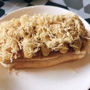 Bánh gối chà bông phomai