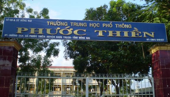 Trường THPT Phước Thiền
