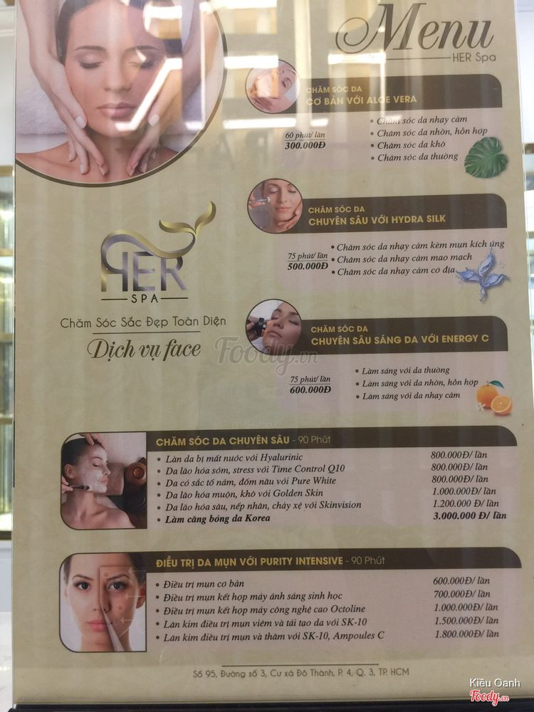Her Spa & Clinic ở TP. HCM
