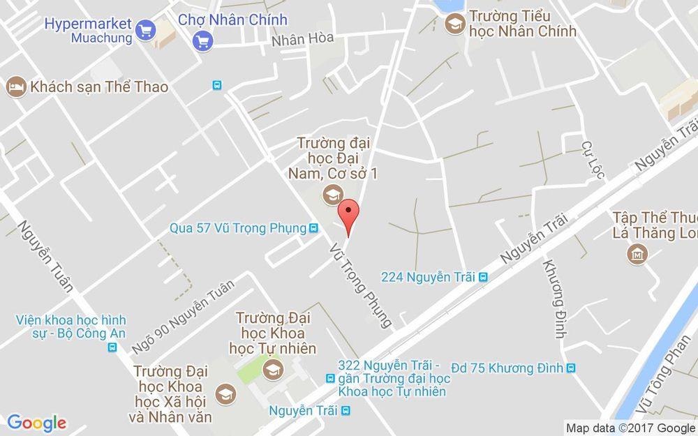 Vị trí bản đồ 240 Quan Nhân Quận Thanh Xuân Hà Nội