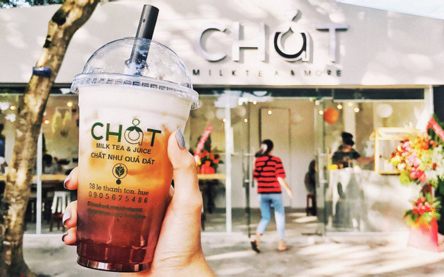 Chất Milk Tea & Juice