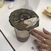 Trà sữa không ống hút phải dùng thìa xúc trân châu. Ác lần 2... 😤😤😤