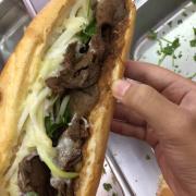 Bánh bò bbq cực nhiều thịt