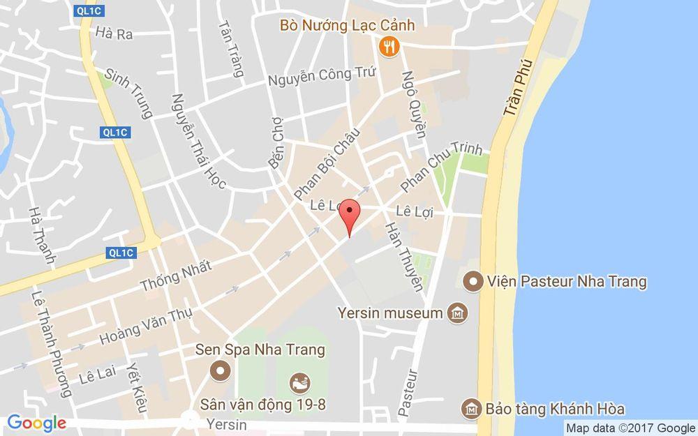 Vị trí bản đồ 11 Phan Chu Trinh Tp. Nha Trang Khánh Hoà