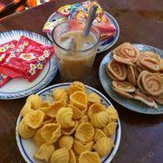 Cafe + các món ăn vặt