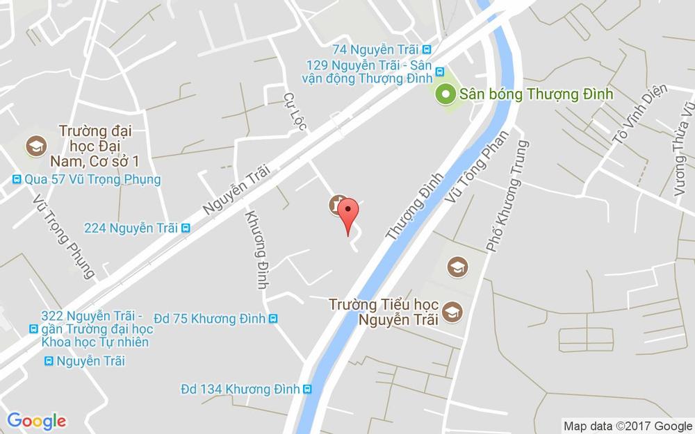 Vị trí bản đồ Nhà H7, Ngõ 133 Nguyễn Trãi Quận Thanh Xuân Hà Nội