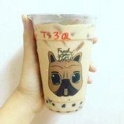 Trà sữa 3Q: Trân Châu + Thạch Cà Phê + Sương Sáo