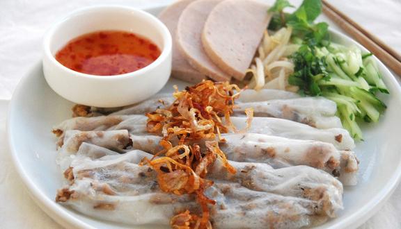 Bánh Ướt Thịt Nướng - Trà Sữa Mộc