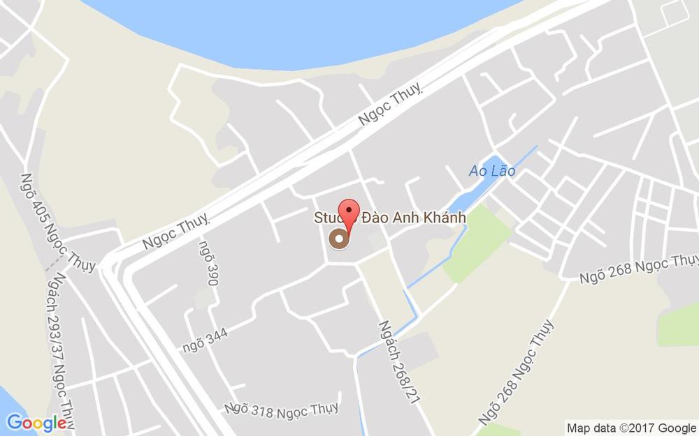 Vị trí bản đồ Cosy Tree House ở Hà Nội