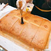 Bánh cheese siêu thơm. Hấp dẫn quá mà đợt này thèm socola hơn.