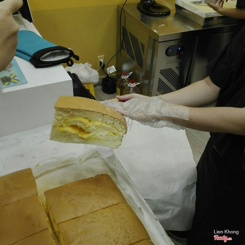 Cheese Castella
