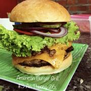 Cheese Burger (Extra cheese) (Bơ gơ thịt bò phô mai với nhiều phô mai) ăn xong là ghiền luôn ạ