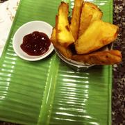 Sweet potato fries Khoai lang chiên ngọt ngon