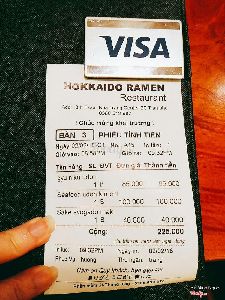 Hokkaido Ramen - Nha Trang Center ở Khánh Hoà