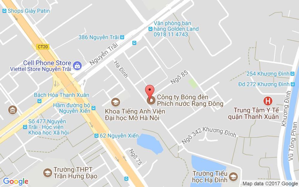 Vị trí bản đồ 92 Hạ Đình Quận Thanh Xuân Hà Nội
