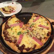 pizza bò bằm phomai