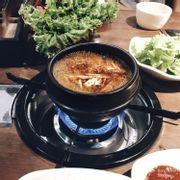 Canh kim chi ăn kèm