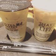 Hokkaido milk tea & olong milk tea