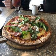 Pizza Burrata Parma Ham