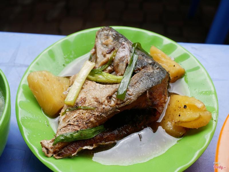 Đầu cá ngừ kho thơm,ăn béo thơm ko tanh