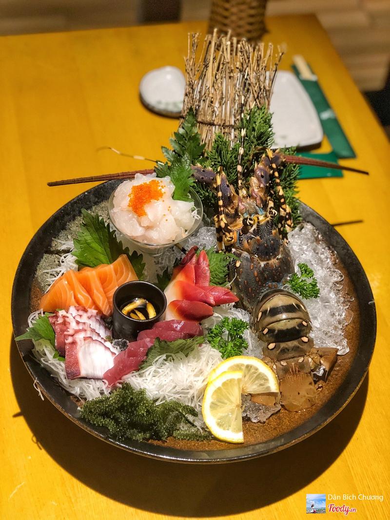 Sashimi hải sản cao cấp