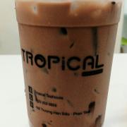 Một ly trà sữa chocolate cho ngày mưa